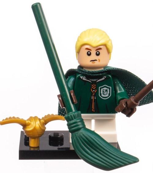 LEGO Harry Potter Fantastic Beasts Draco Malfoy Mystery Minifigure [Quidditch Uniform Loose]