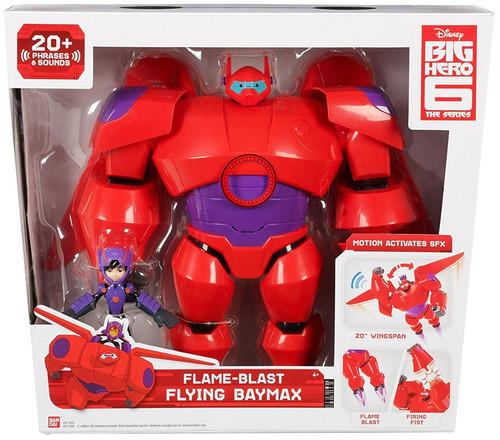 Disney Big Hero 6 The Series Flame-Blast Flying Baymax Action Figure