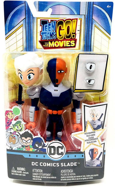 Teen Titans Go! Movie Face-Swappers DC Comics Slade Action Figure