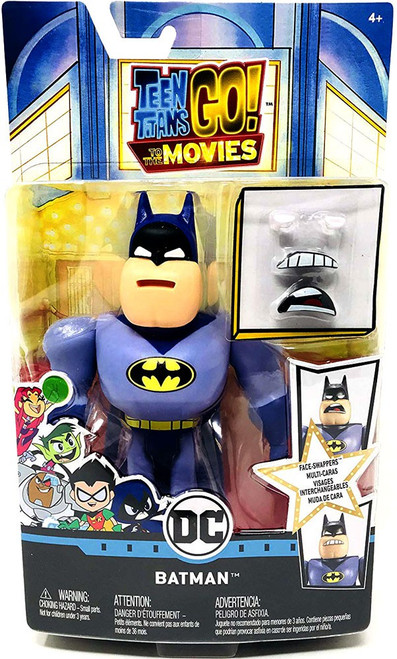 Teen Titans Go! Movie Face-Swappers Batman Action Figure