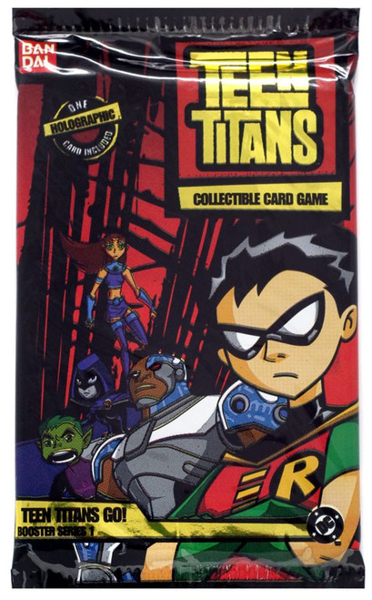 Collectible Card Game Teen Titans Go! Booster Pack