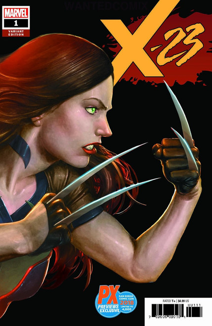 Marvel Comics X-23 #1 Limited to 4000 Comic Book [SDCC 2018 Previews Exclusive cover]