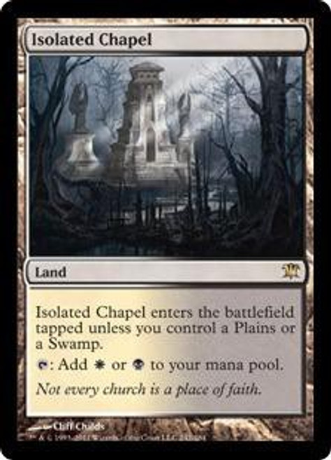 MtG Innistrad Rare Foil Isolated Chapel #242