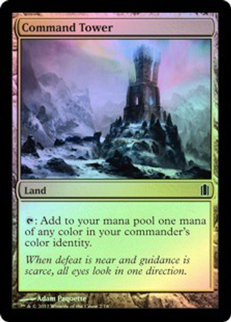 MtG Assorted Promo Cards Foil Command Tower [Commander's Arsenal]