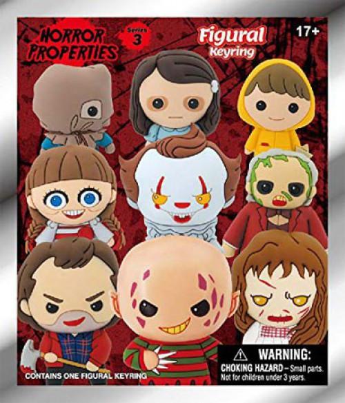 3D Figural Keyring Horror Series 3 Mystery Pack