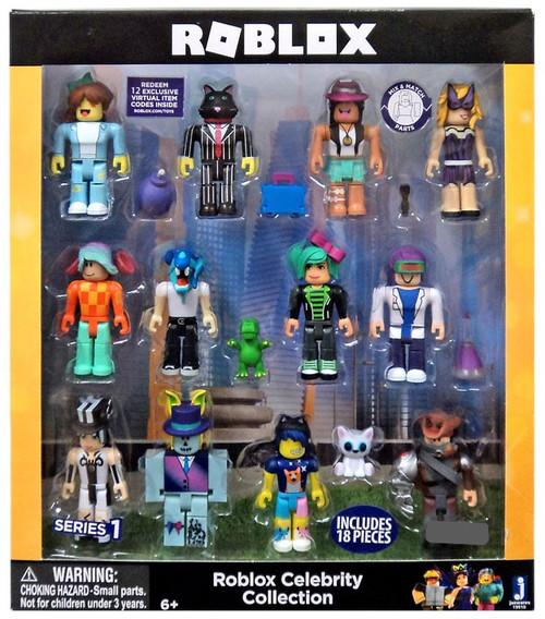 Roblox Series 1 Celebrity Collection Exclusive Action Figure 12-Pack