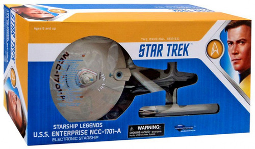 Star Trek The Undiscovered Country Starship Legends Enterprise NCC-1701-A Electronic Starship [2018]