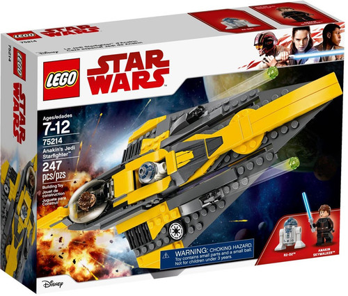 LEGO Star Wars The Clone Wars Anakin's Jedi Starfighter Set #75214