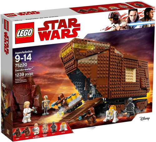 LEGO Star Wars A New Hope Sandcrawler Set #75220