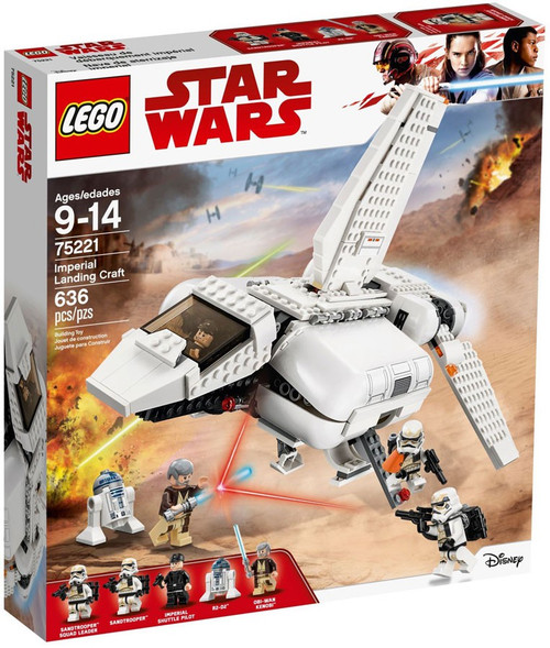 LEGO Star Wars A New Hope Imperial Landing Craft Set #75221