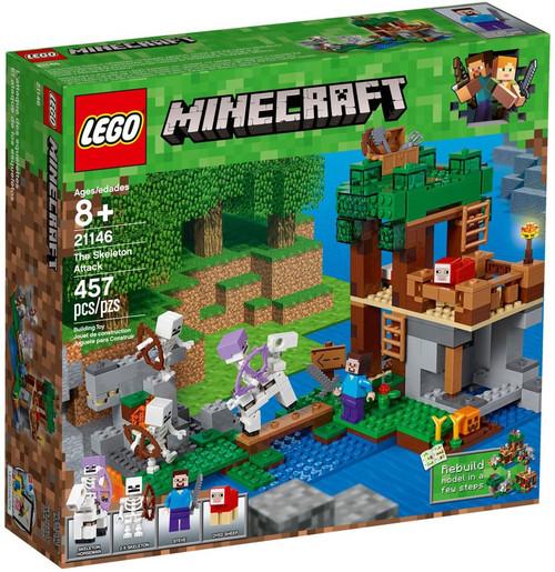 LEGO Minecraft The Skeleton Attack Set #21146