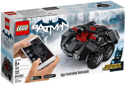 LEGO DC Super Heroes Batman App-Controlled Batmobile Set #76112