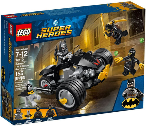 LEGO DC Super Heroes Batman: The Attack of the Talons Set #76110