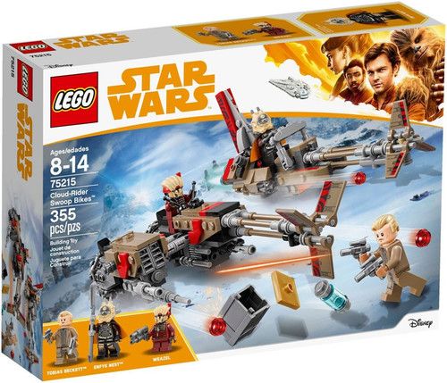 LEGO Star Wars Solo Cloud-Rider Swoop Bikes #75215