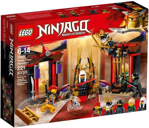 LEGO Ninjago Throne Room Showdown Set #70651