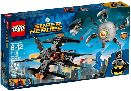 LEGO DC Super Heroes Batman: Brother Eye Takedown Set #76111