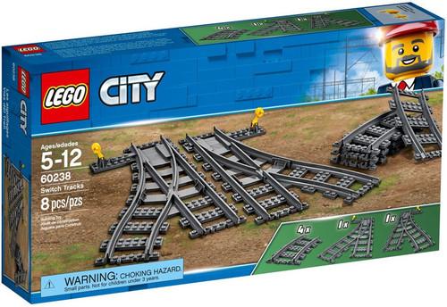 LEGO City Switch Tracks Set #60238