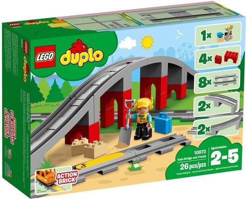 LEGO Duplo Train Bridge & Tracks Set #10872