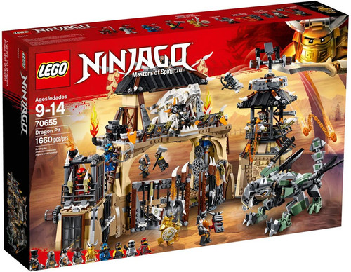 LEGO Ninjago Dragon Pit Set #70655