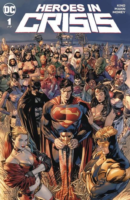 DC Heroes In Crisis #1 of 9 Comic Book