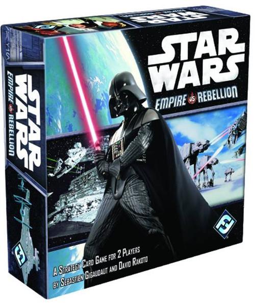 Star Wars Empire vs Rebellion Card Game