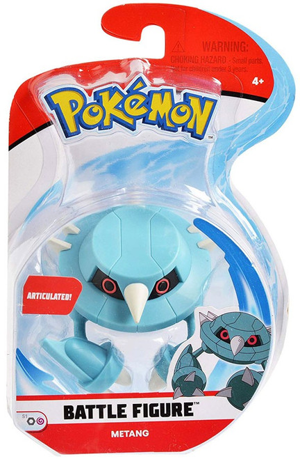 Pokemon Series 1 Battle Figure Metang 3-Inch Figure