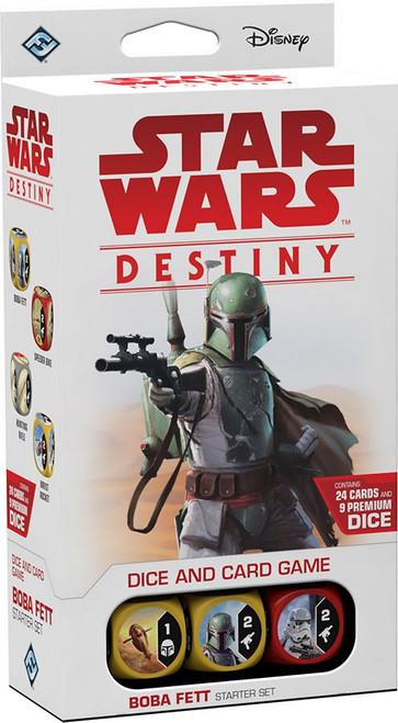 Star Wars Destiny Boba Fett Starter Set Game