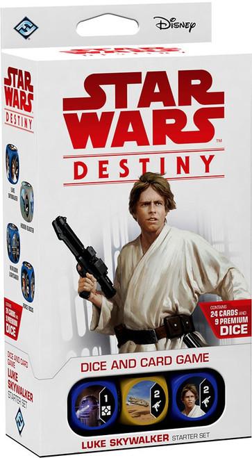 Star Wars Destiny Luke Skywalker Starter Set Game