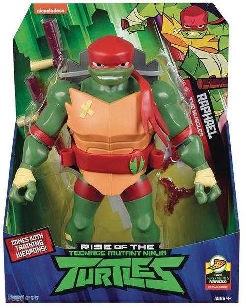Teenage Mutant Ninja Turtles Nickelodeon Rise of the TMNT Raphael Giant Action Figure [Tonfas & Throwing Stars]