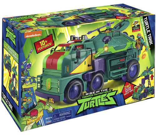 Teenage Mutant Ninja Turtles Nickelodeon Rise of the TMNT Turtle Tank Vehicle [Figures Sold Separately]