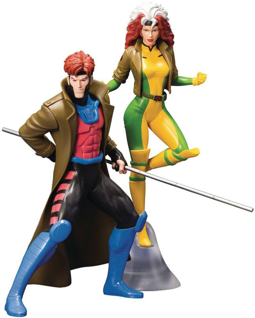 Marvel X-Men '92 ArtFX+ Rogue & Gambit Statue 2-Pack
