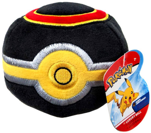 Pokemon Pokeball Luxury Ball 5-Inch Plush