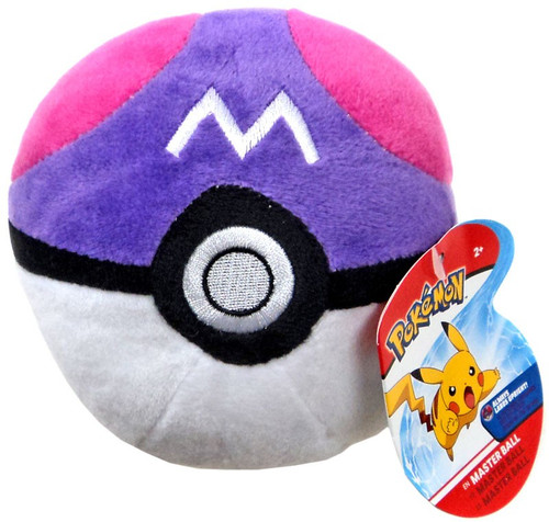 Pokemon Pokeball Master Ball 5-Inch Plush