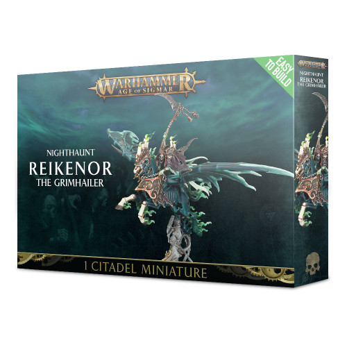 Warhammer Age of Sigmar Grand Alliance Death Nighthaunt Reikenor the Grimhailer