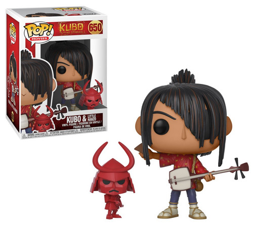 Funko POP! Movies Kubo & Little Hanzo Vinyl Figure #650
