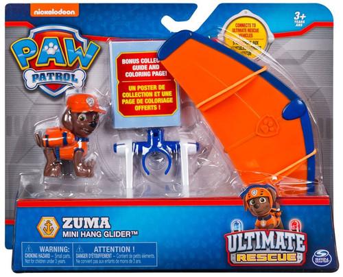 Paw Patrol Ultimate Rescue Zuma Mini Hang Glider Vehicle & Figure
