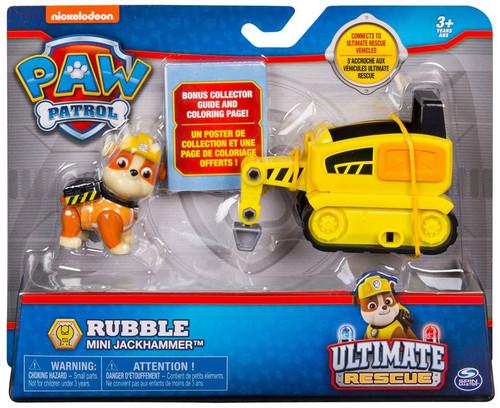 Paw Patrol Ultimate Rescue Rubble Mini Jackhammer Vehicle & Figure