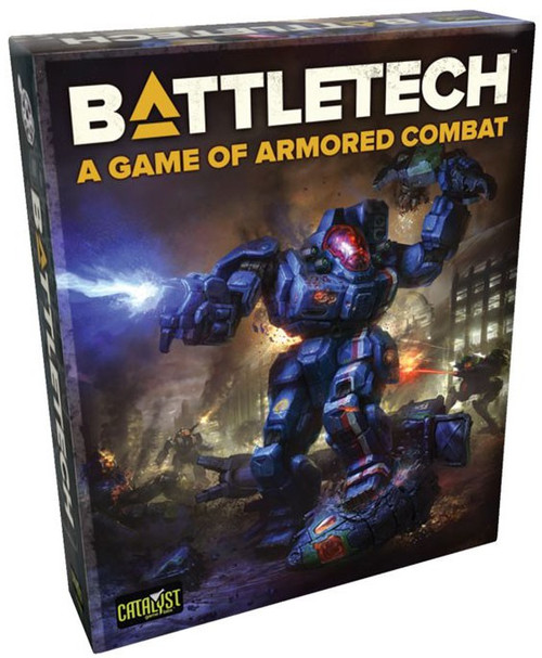 BattleTech A Game of Armored Combat Miniatures Game Box Set