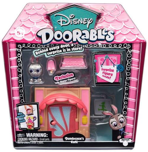 Disney Doorables Jumbeaux's Cafe Mini Display Set [Zootopia, Judy Hopps]