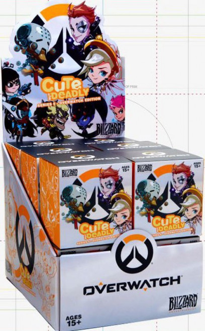 Cute But Deadly CBD Series 5 (Overwatch Edition) Mystery Box [12 Packs]