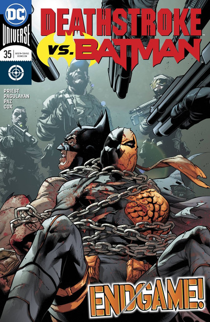 DC Deathstroke #35 Comic Book