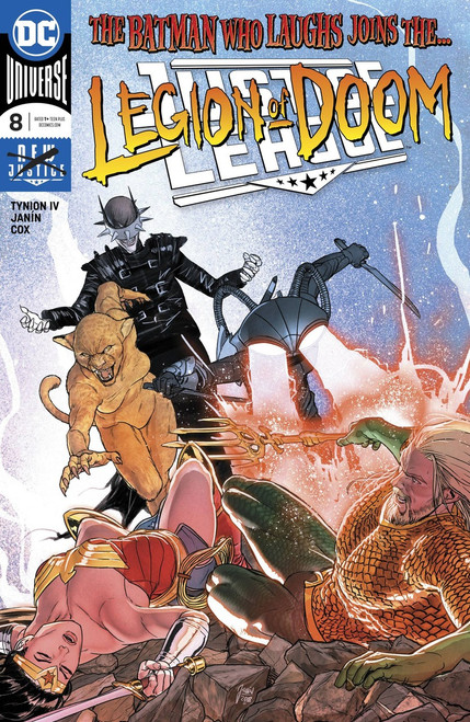 DC Justice League #8 Comic Book