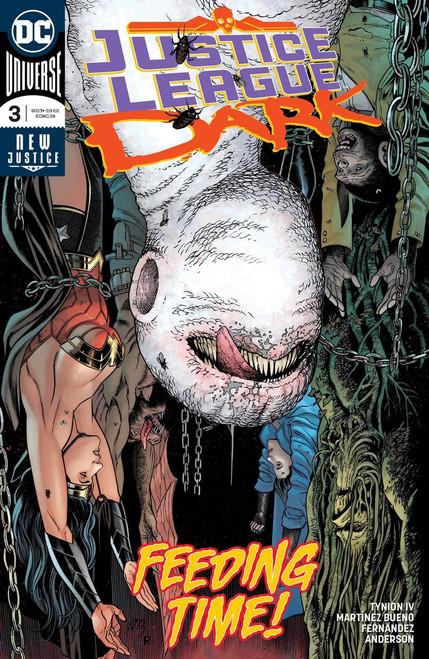 DC Justice League Dark #3 Comic Book