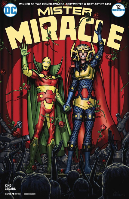 DC Mister Miracle #12 Comic Book