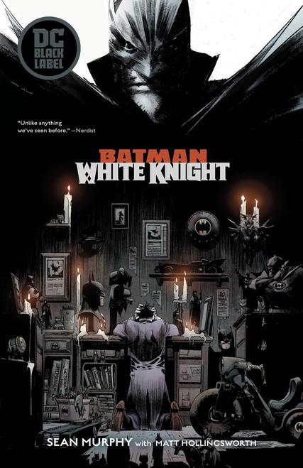DC Black Label Batman White Knight Trade Paperback Comic Book