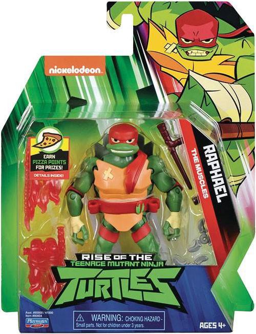 Teenage Mutant Ninja Turtles Nickelodeon Rise of the TMNT Raphael Action Figure [The Muscles]
