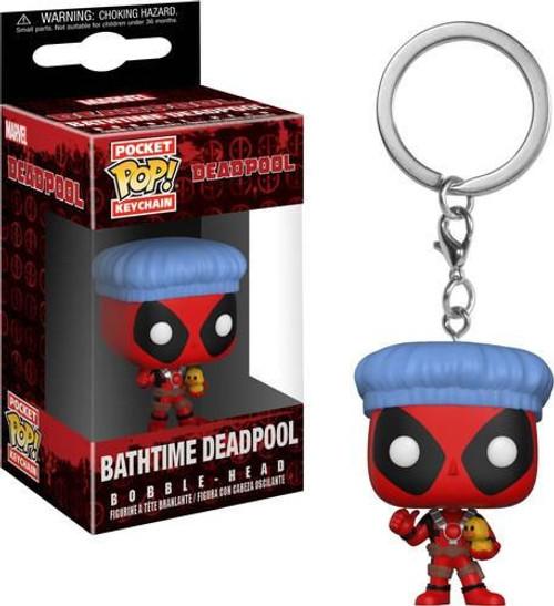 Funko POP! Marvel Bathtime Deadpool Keychain