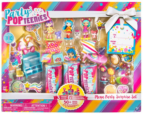 Party Popteenies Series 1 Mega Party Surprise Set Exclusive Playset