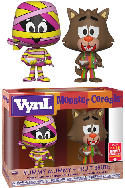 Funko Monster Cereals Vynl. Yummy Mummy & Fruit Brute Exclusive Vinyl Figure 2-Pack