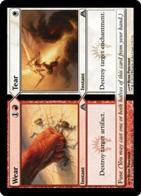 MtG Dragon's Maze Uncommon Foil Wear // Tear #135